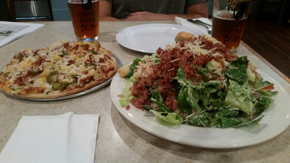 Amazing portions on this BLT salad, and spicy bbq pizza - Yelp