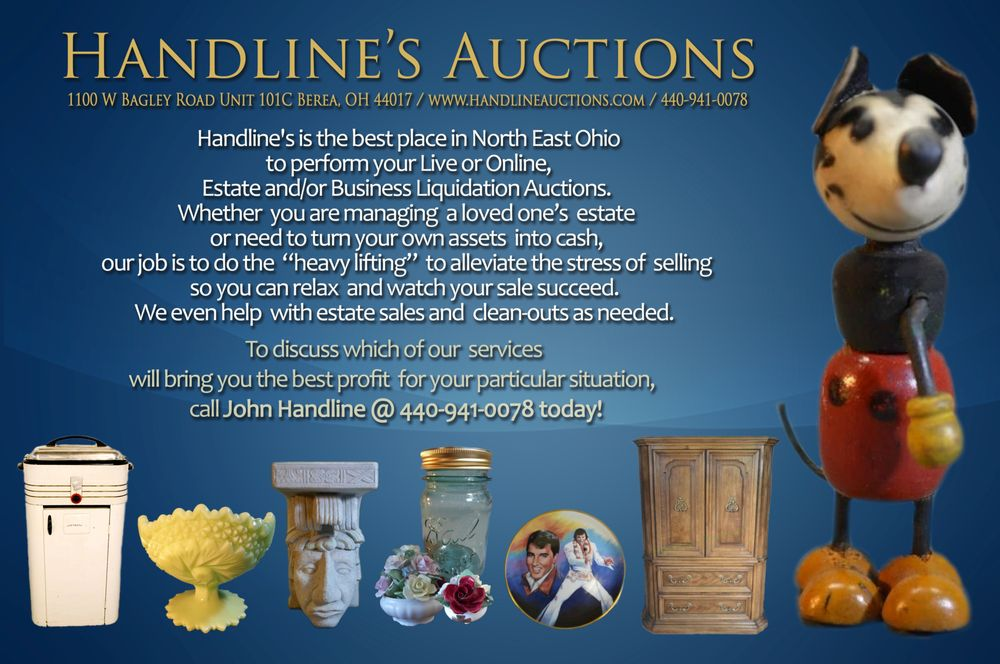 Handline's Auctions: 794 W Bagley Rd, Berea, OH
