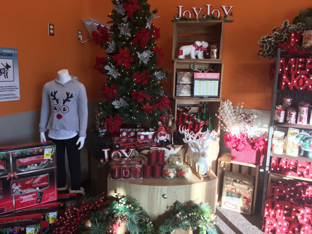 Even holiday decorations - Yelp