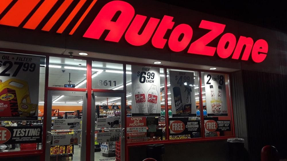 AutoZone - Auto Parts & Supplies - 8611 Perrin Beitel Rd