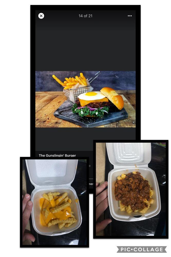 The Gunslingin' Burger: 713 E 4th St, Russellville, AR