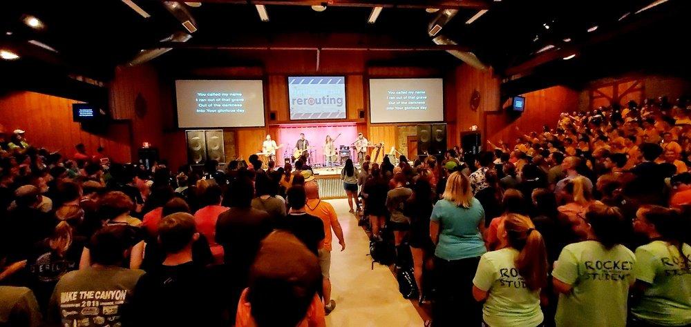 Pineywoods Baptist Encampment: 6272 E US Hwy 287, Woodlake, TX