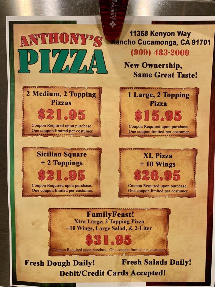 antoninos rancho cucamonga coupons