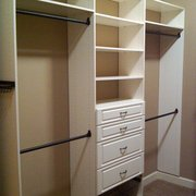 Superieur Pull Out Birch Photo Of Closet Tailors   Frederick, CO, United States.  Master Closet In Antique ...