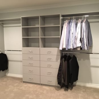 Photo of amazing closets inglewood ca united states all shelving and hang