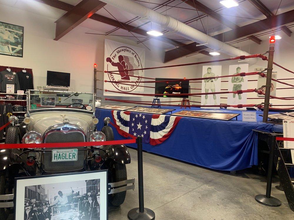 International Boxing Hall of Fame: 360 N Peterboro, Canastota, NY