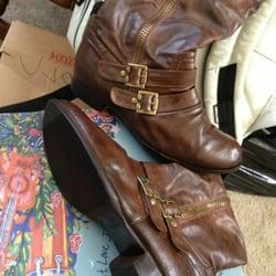 Photo of Blaine's Shoe Repair - Salinas, CA, United States. Repaired & polished! Looks brand new!