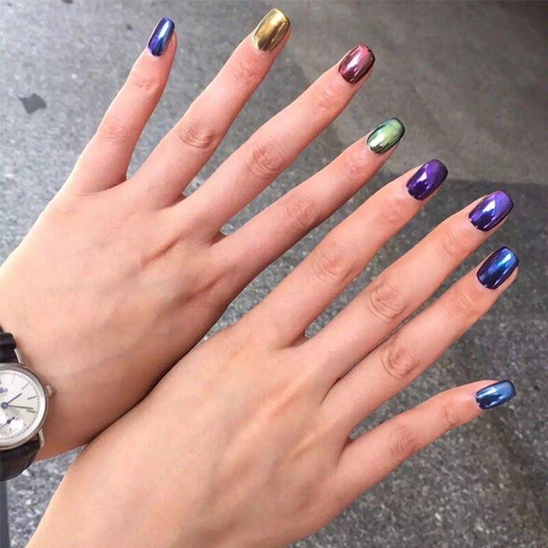 Chrome nail at Nail Fever West Ashley - Yelp