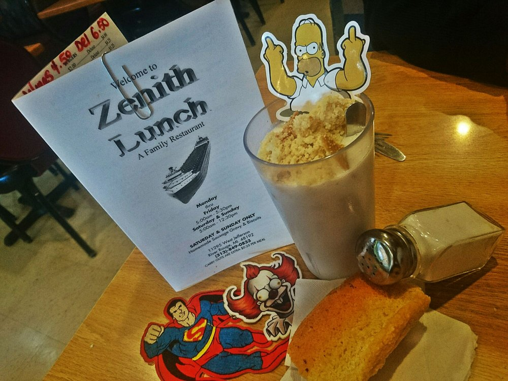 Zenith's Lunch: 11295 W Jefferson Ave, River Rouge, MI