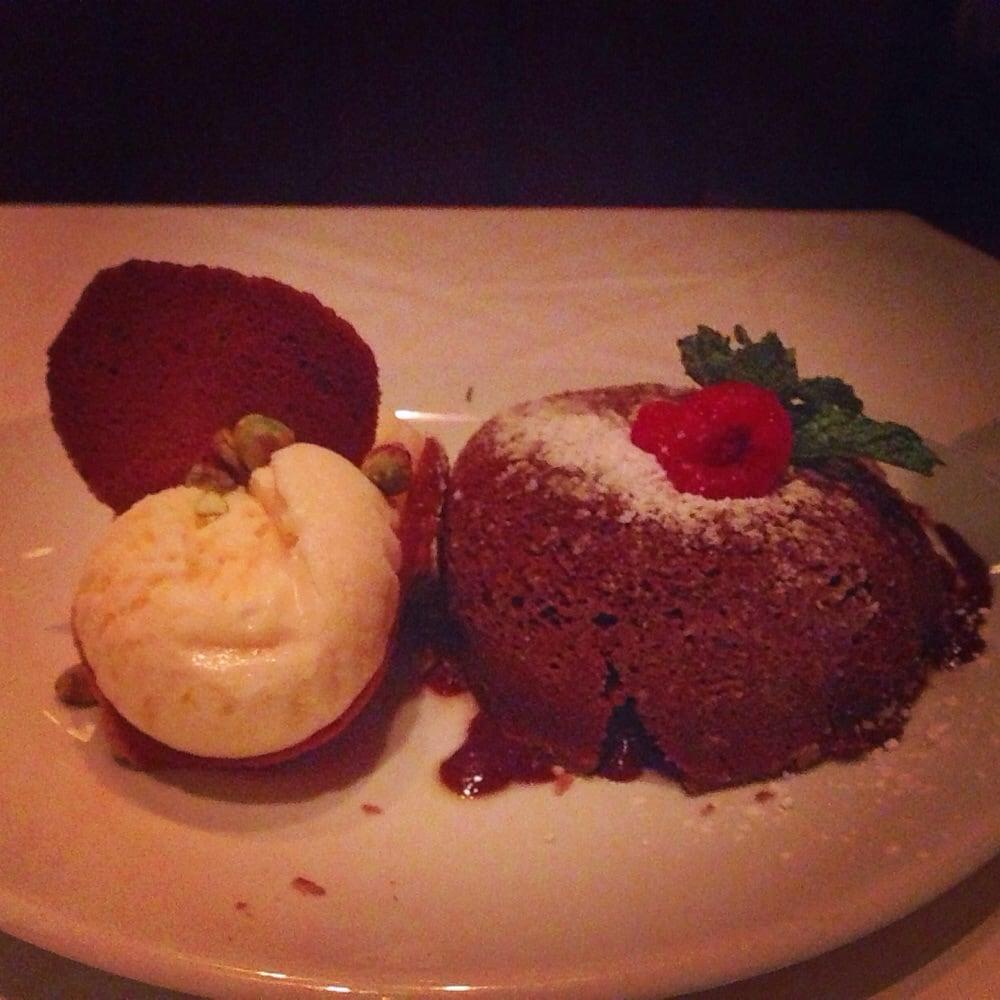 Flemings Chocolate Lava Cake