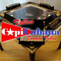 Superb Tablas Capicubana Domino Tables 34 Photos Tabletop Games Home Interior And Landscaping Ologienasavecom