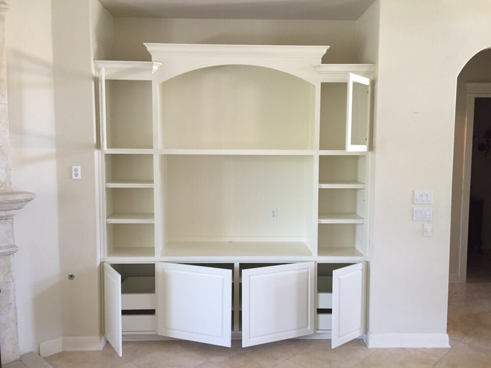 After Entertainment Center Customer Wanted It To Match Their