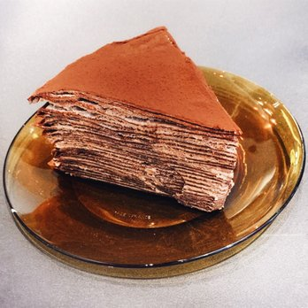 Awfully Chocolate Crepe Cake