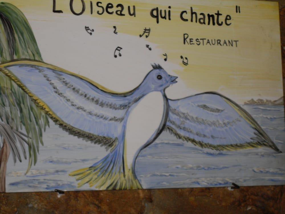 L'oiseau qui chante