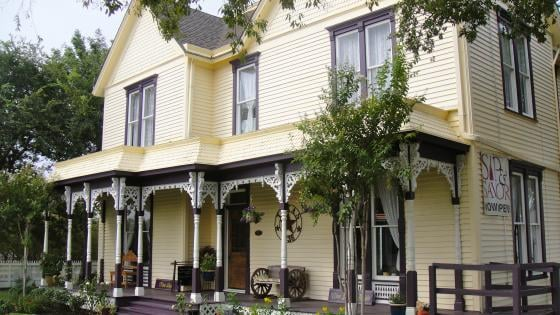 Sip and savor is located in a beautiful old 1893 victorian for Sips texas