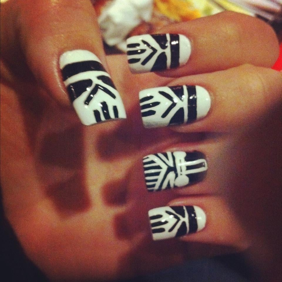 Star Wars Stromtroopers and Darth Vader nail art done by Geth - Yelp