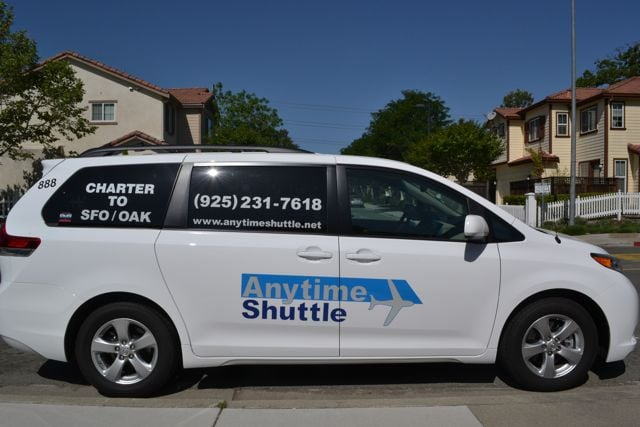Anytime Shuttle: 463 Glacier Dr, Martinez, CA