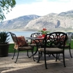 Photo Of Desert Surfside Waterfront Accommodation Osoyoos Bc Canada Beach Side Patio