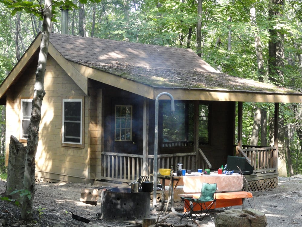 Jenny jump state park campground 19 photos campgrounds for Cabin getaways in nj