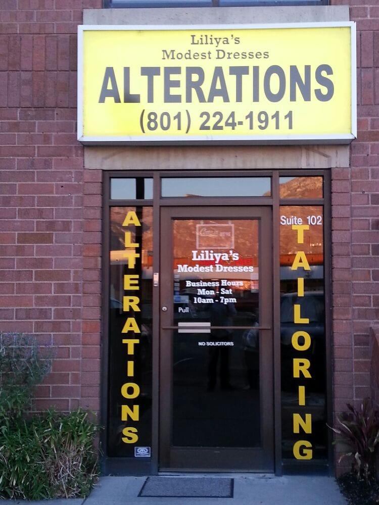 Alterations By Liliya: 1256 S State St, Orem, UT