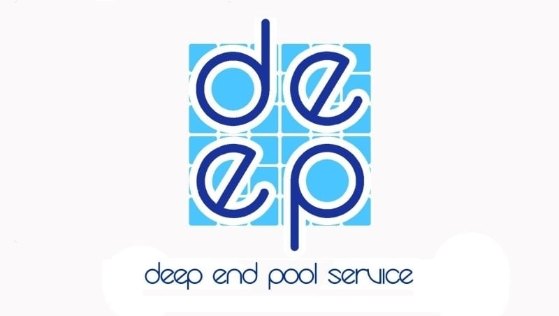 Deep End Pool Service : Deep end logo that every member will wear to your pool for