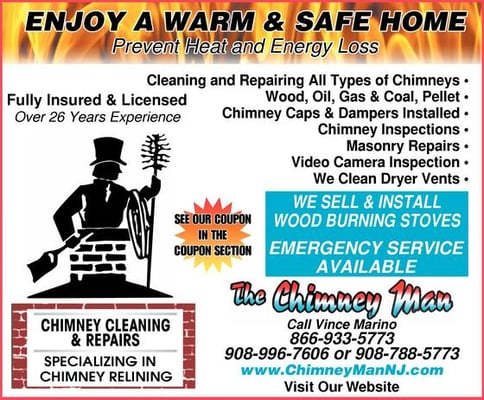 The Chimney Man Fireplace Services 1 Rosemont Ringoes