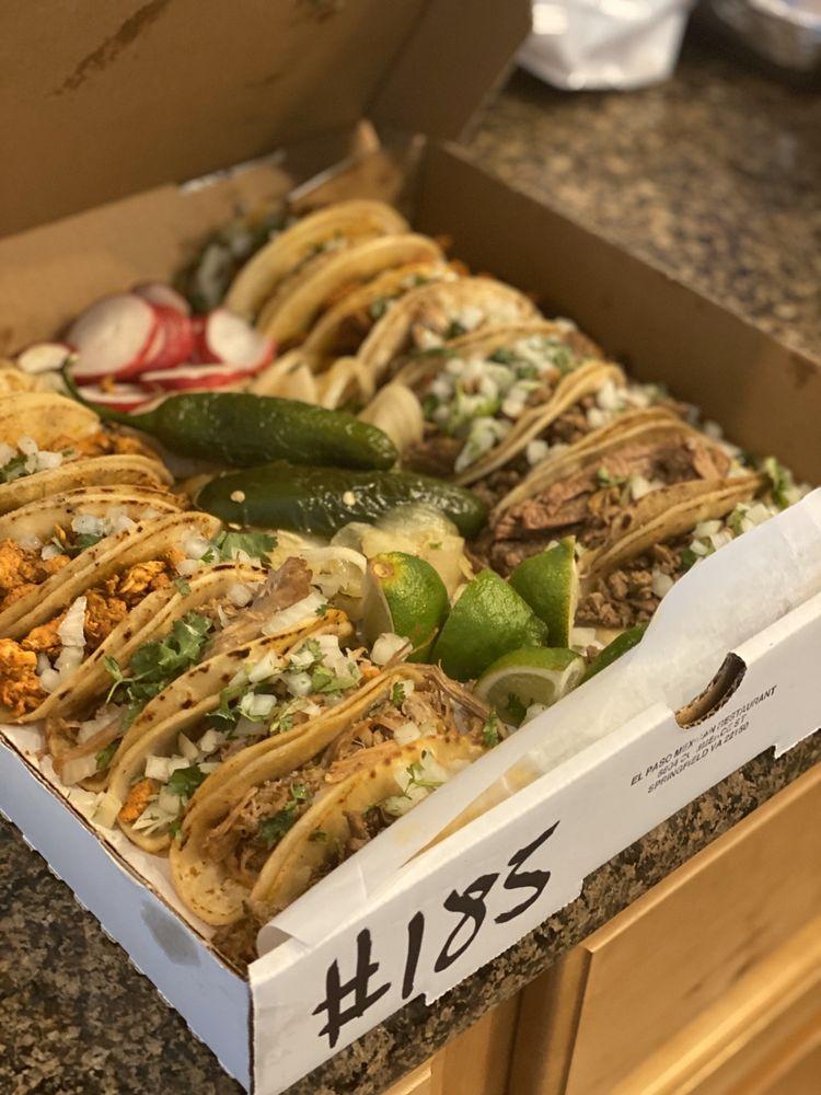 El Paso Mexican Restaurant: 6804 Commerce St, Springfield, VA