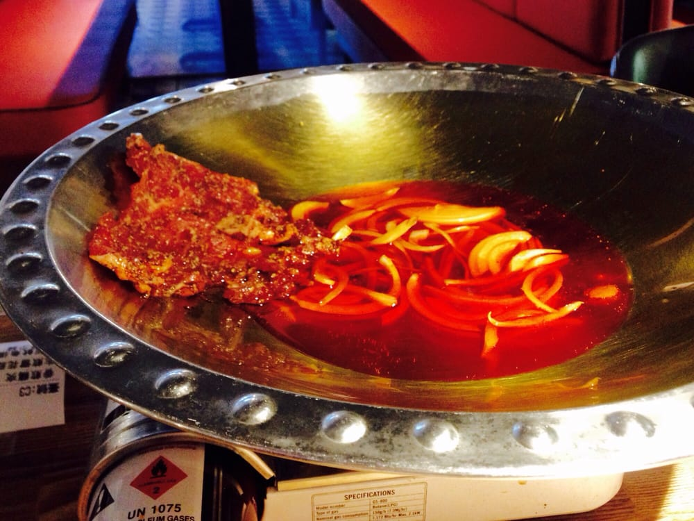 Fatty Beef Cooked In Chili Oil Tableside Yelp