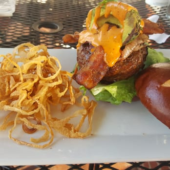 ... Burger Bistro - Port Jefferson, NY, United States. Triple smoke burger