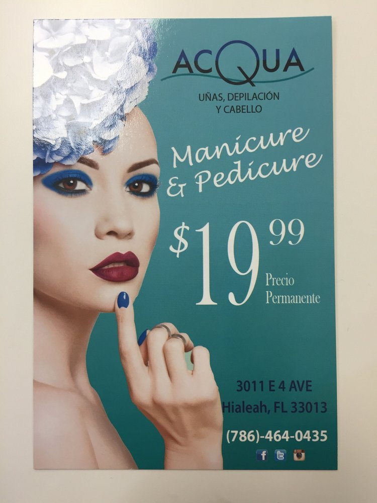 Manicure and pedicure yelp for Acqua nail salon