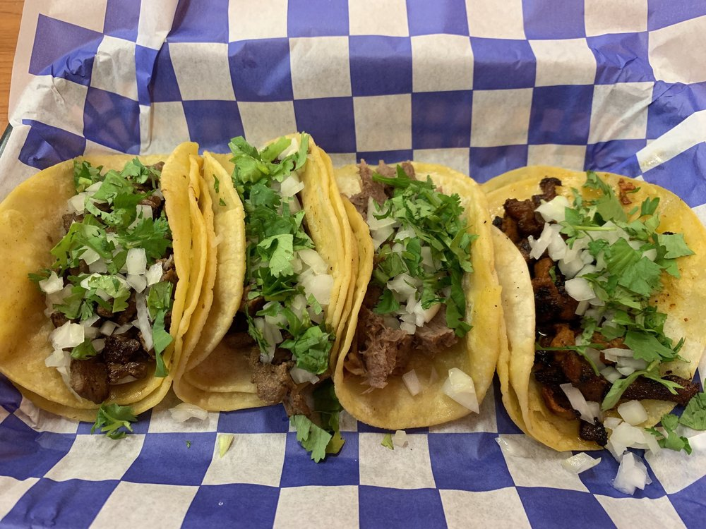 Food from El Taco Shop