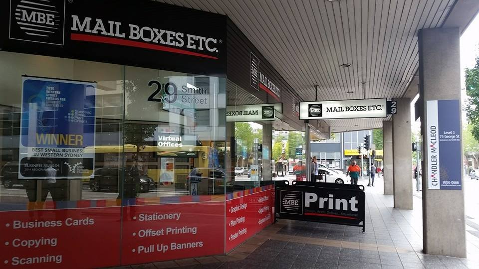 MBE Parramatta - Printing & Photocopying - 29 Smith St, Parramatta ...