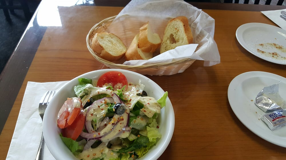 Peppino S Italian Restaurant: Side Salad Which Is Pretty Good.