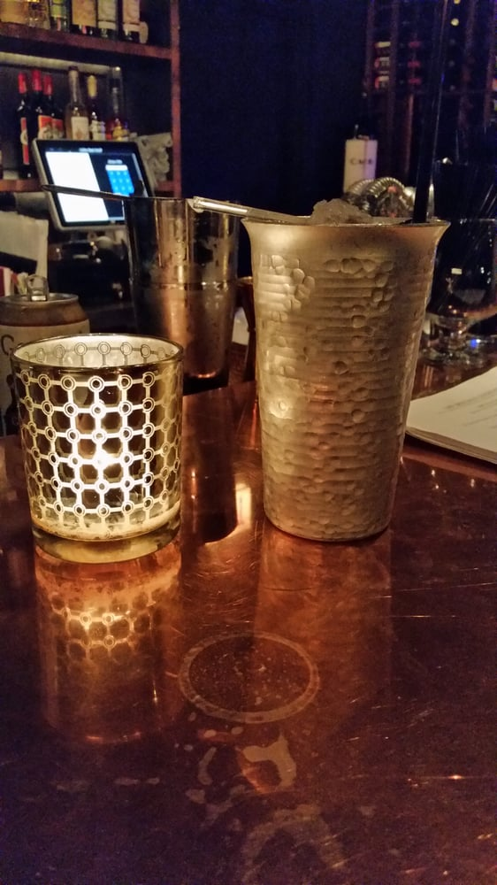 Wolf and red take on a moscow mule with bourbon yelp for Jj fish and chicken chicago il