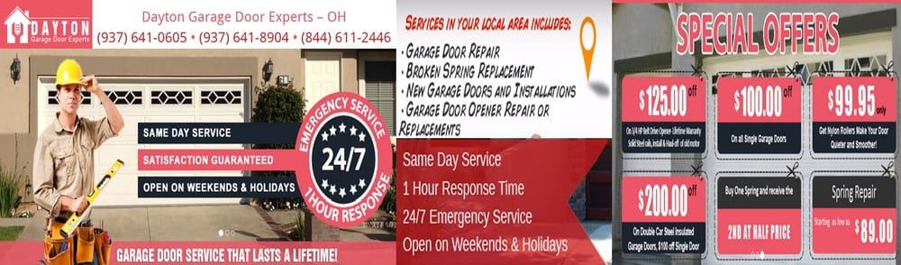 Dayton Garage Door Experts Garage Door Services 70 Birch Aly