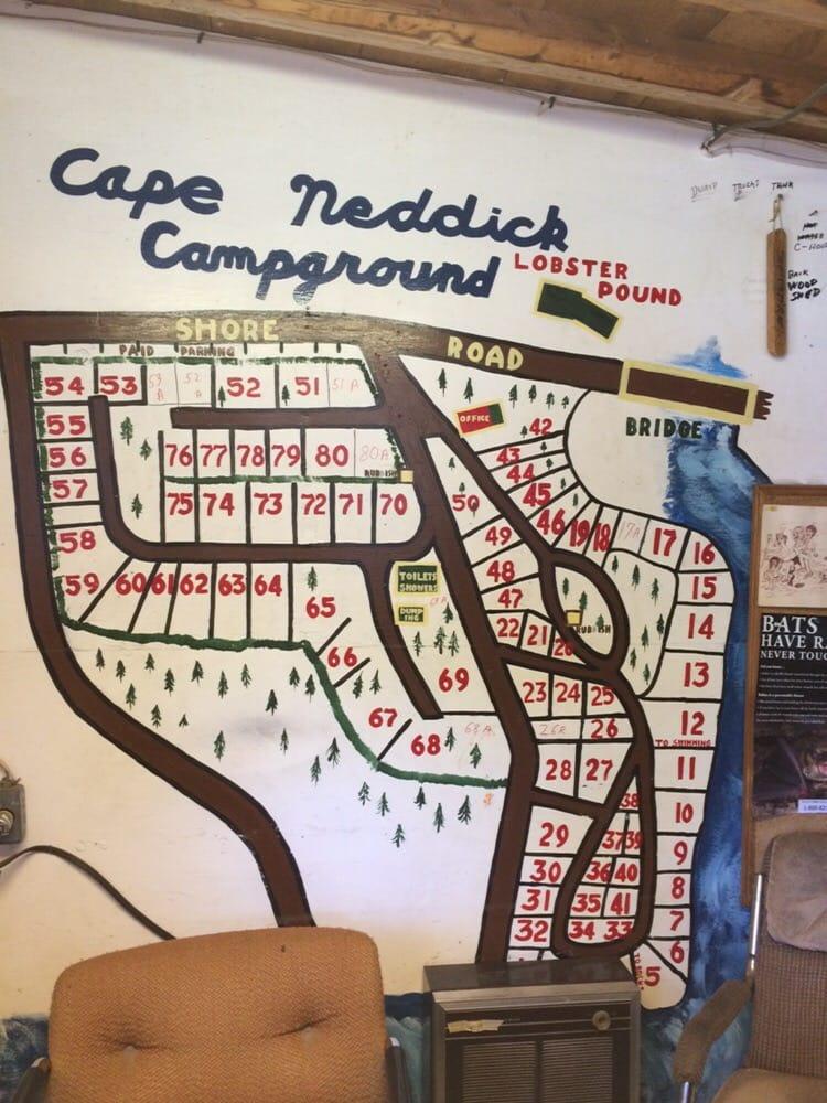 Cape Neddick Oceanside Campground: 63 Shore Rd, Cape Neddick, ME