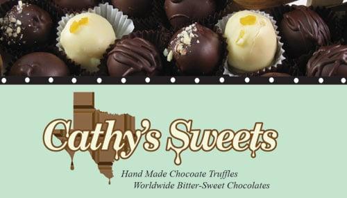 Cathy's Fine Chocolate: 10877 Park Rd 37, Lakehills, TX