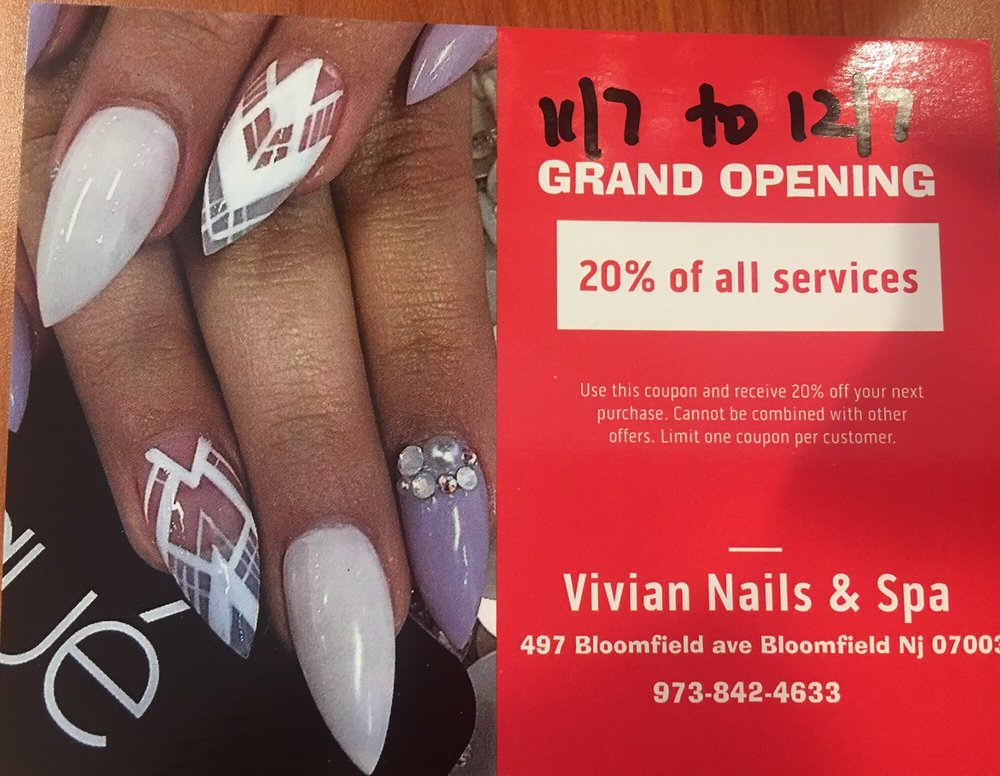 Free Vivian nails coupon