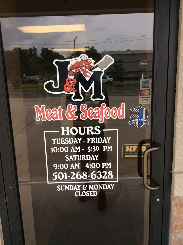 Food from J & M Meat and Seafood