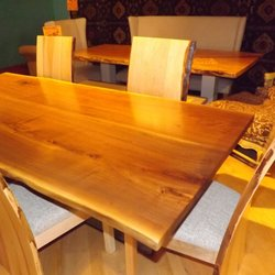 Photo Of Ormanu0027s   Overland Park, KS, United States. Live Edge Dining Table