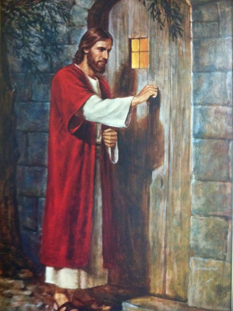 Christ Knocking At The Door Without A Handle Yelp