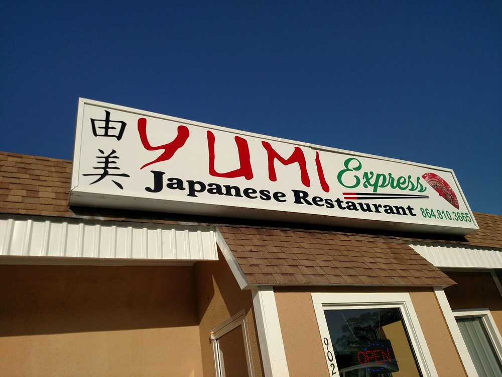 Yumi Express Japanese Restaurant: 902 W Main St, Easley, SC