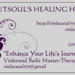Violetsoul reiki master 10 photos reiki venice venice ca photo of violetsoul reiki master venice ca united states my business card reheart Gallery
