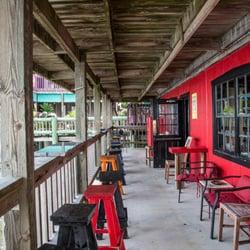 Photo Of Black Dog Bar Tables Cedar Key Fl United States