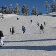 Ski slope amateur sucks