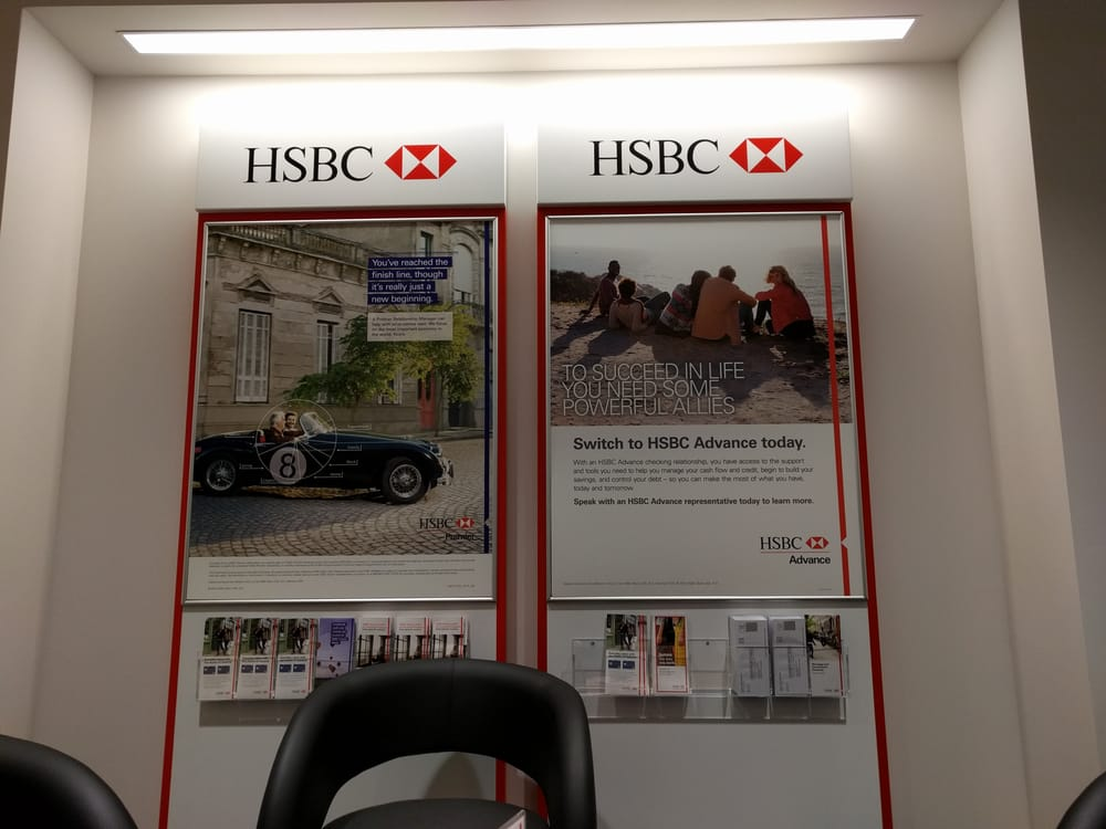 HSBC - Banks & Credit Unions - 252 W 57th St, Midtown West