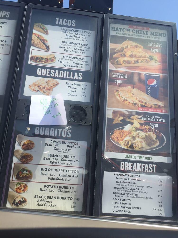 Taco Bueno: 301 W Shawnee St, Muskogee, OK