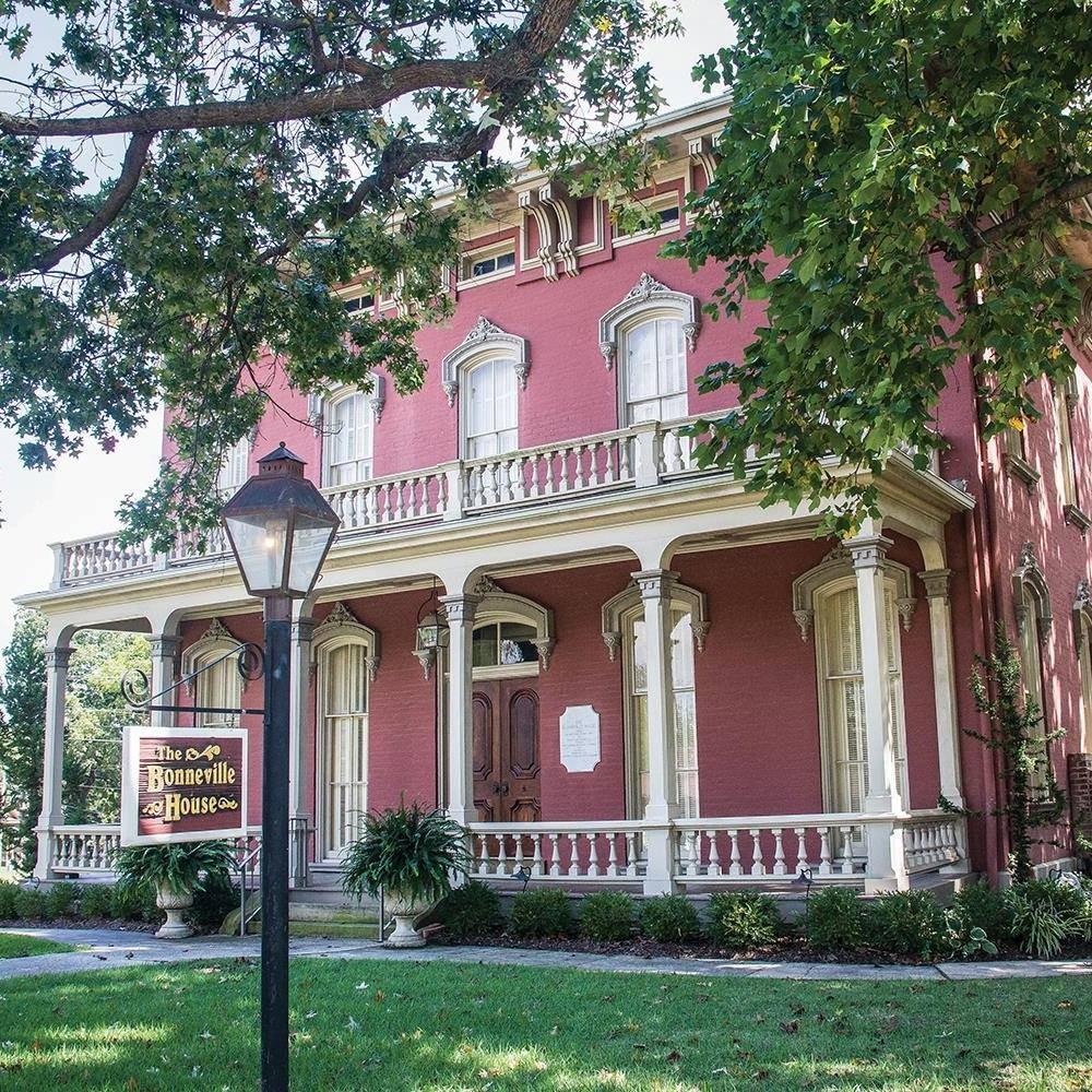 Bonneville House: 318 N 7th St, Fort Smith, AR