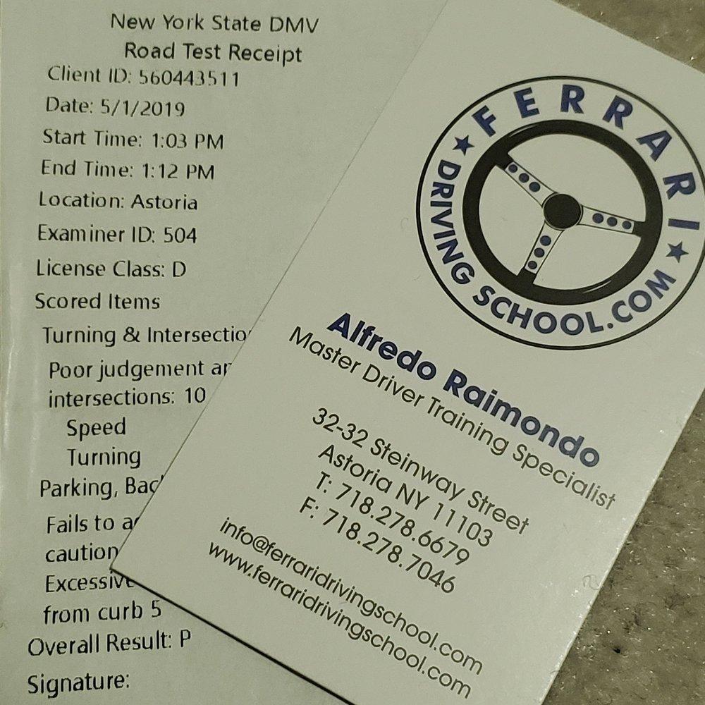 Ferrari Driving School New York >> Passed Yelp