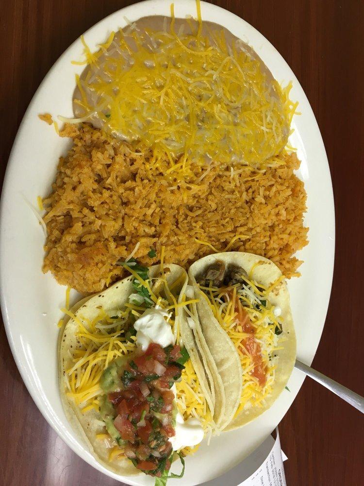 Food from Norma's Casa de Tacos